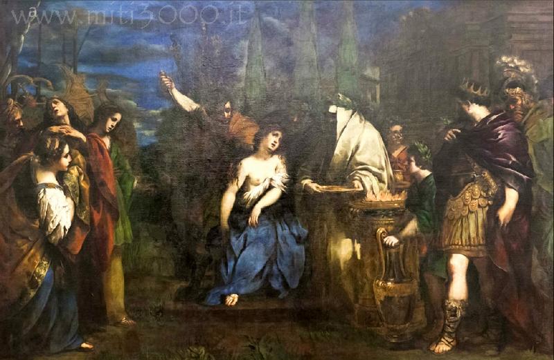 mitologia greca lettera p